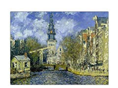 Monet Zuiderkerk at Amsterdam (2 Sizes)