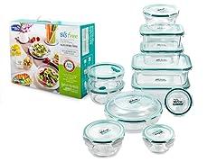 22-Piece Bisfree Food Container Set