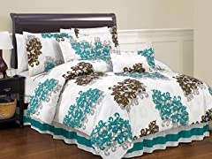 Angelina 6PC Comforter Set-2 Sizes