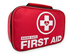 2-in-1 First Aid Kit (120 Piece) + Bonus Mini Kit