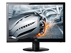 "22"" 1080p LED-backlit Monitor"