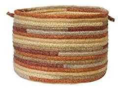 Fabric Multi Storage Basket - Rustic Blend (2 Sizes)