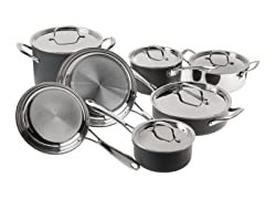 Cuisinart 12-Pc Clad Induction Cookware