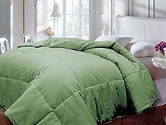 Down Alternative Comforter-Sage-2 Sizes