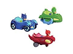 PJ Masks 3 Mobile Vehicles Bundle