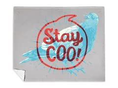 """Stay Coo"" Blanket"
