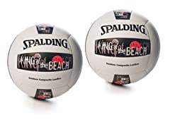 Spalding King Beach Volleyball - 2 Pack