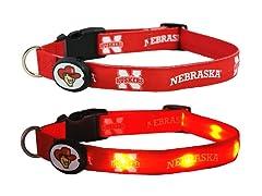 University of Nebraska LED Collar - Med