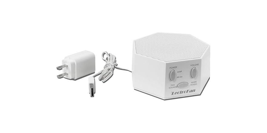 white noise machine that sounds like a fan