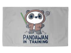 """Pandawan in Training"" 3' x 2' Rug"