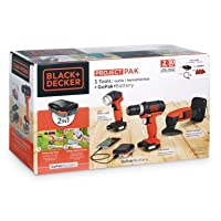 Deals on Black+Decker 3-Tool GoPak Project Kit