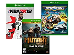 Microsoft Xbox One 3 Game Bundle