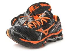 Mizuno Wave Creation 12 - Black/Orange