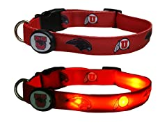 University of Utah LED Collar - Large
