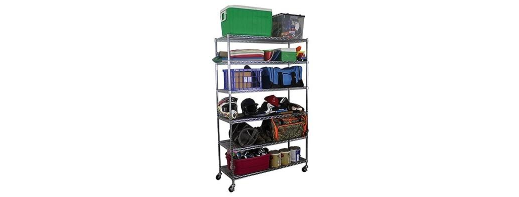 SafeRacks Wire Shelving Storage Unit
