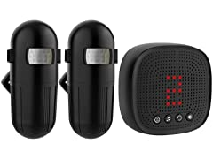 Black Wireless Driveway Alarm (Your Choice)