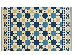 In/Outdoor Rugs Storm Sapphire Blue