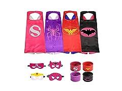 Munfa 4 Different Superheros Costumes