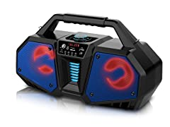 Rechargeable Boombox Style Bt Speaker