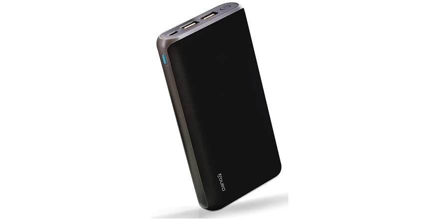 Aduro 20,000mAh Dual USB Powerbank - White or Black   WOOT