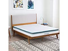 "LinenSpa 8"" Foam & Innerspring Hybrid Twin Mattress"