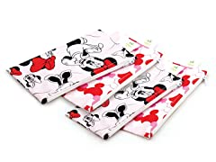 Minnie Mouse Small Snack Bag 4-Pack