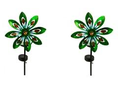 Touch of ECO Solar Spinning LED Pinwheel