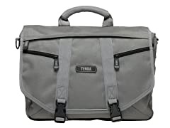 Large Messenger Bag - Platinum