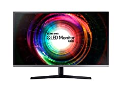 "Samsung 28"" 4K Ultra-HD QLED TN Monitor 1ms"