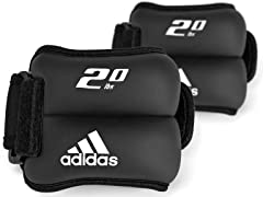 adidas 2 lb. Ankle/Wrist Weight - Pair