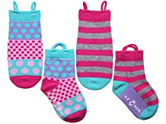 2-Pk - Polka Dots & Stripes
