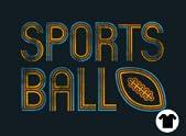 Retro Sports Ball