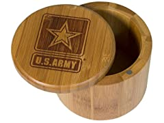 Totally Bamboo Army Salt Box