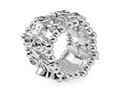 Relic RJ1710040-ONE-SIZE Silver Stretchable Ring