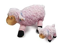 Zoobies Lola Lamb PLUS Bonus Mini