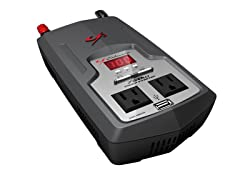 Schumacher 750 Continuous Watts, 1500 Peak Digital Power Converter