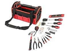 Olympia Tools 56-Piece Tool Bag Set