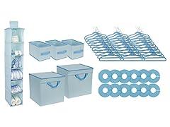 48-Piece Nursery Storage Set