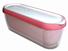 Glide-a-Scoop Ice Cream Tub: Strawberry