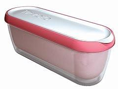 Glide-a-Scoop Ice Cream Tub: Strawberry