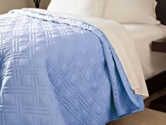 Lavish Home Diamond Weave Bed Quilt