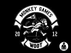 2012 Woot Monkey Games Pullover Hoodie