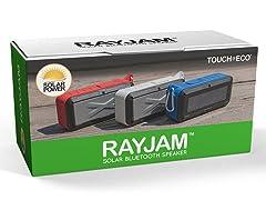 Touch Of ECO RayJam Solar Bluetooth Wireless Speaker