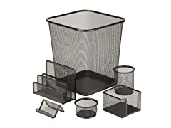Honey Can Do Mesh Desk Set