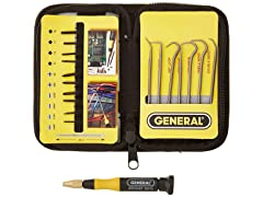 Pick and Screwdriver Set with Pouch