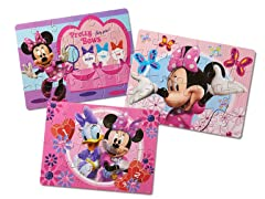Minnie Bowtique 3 Pk Puzzles in Tin Case