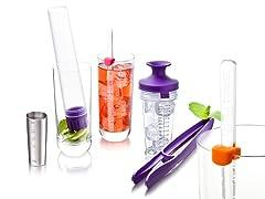 Cocktail Set, Purple