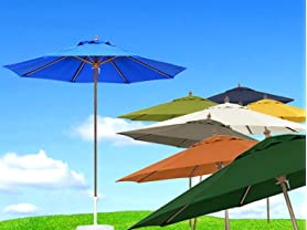 California Umbrella 9-ft Patio Umbrellas