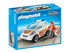PLAYMOBIL Emergency Vehicle Build Kit