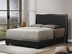 Duncombe Bed - Black - Queen